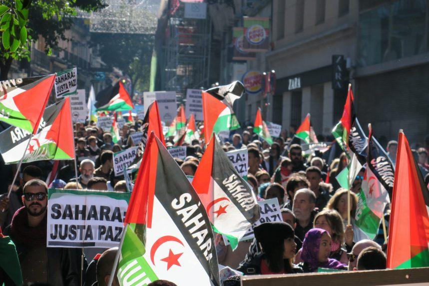 SAHARA: 45 AÑOS DE ABANDONO, BASTA YA – Delegación saharaui en Navarra, ANARASD Y ANAS
