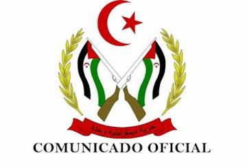 GUERRA EN EL SAHARA   Primer comunicado del Ministerio de Defensa de la RASD tras el ataque a El Guerguerat