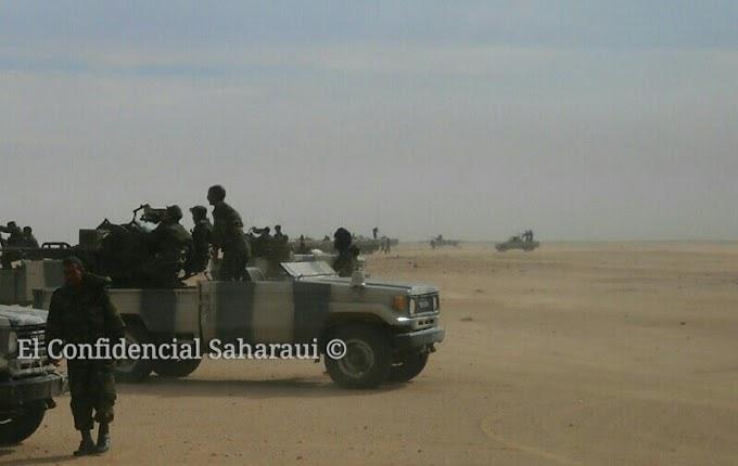 El Ejército de Liberación Saharaui continúa atacando el muro de la vergüenza | #GuerraEnElSahara