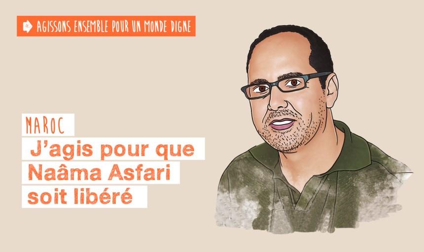 J'agis pour que Naâma Asfari soit libéré | ACAT France