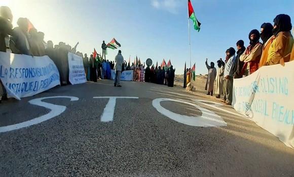 Les forces marocaines ouvrent trois nouvelles brèches à El Guergarat en violation du cessez-le-feu | Sahara Press Service