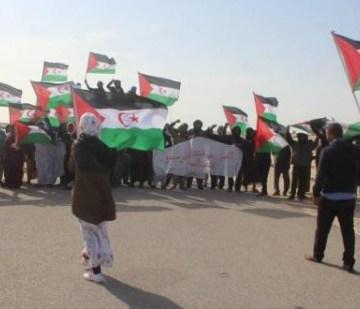 La manifestation pacifique à El-Guerguerat contrecarre les plans du Maroc | Sahara Press Service
