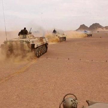 Parte de Guerra Nº 7: Unidades del ELPS continúan sus ataques contra las posiciones del enemigo a lo largo del muro de la Vergüenza | Sahara Press Service