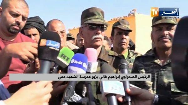 Primeras declaraciones del presidente de la RASD, Brahim Ghali, sobre la reanudación del conflicto armado