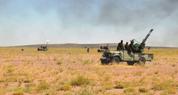 Parte de Guerra Nº 13: Unidades del ELPS continúan sus fuertes ataques a los atrincheramientos del ejército de ocupación marroquí | Sahara Press Service