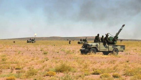 Parte de Guerra Nº 13: Unidades del ELPS continúan sus fuertes ataques a los atrincheramientos del ejército de ocupación marroquí   Sahara Press Service