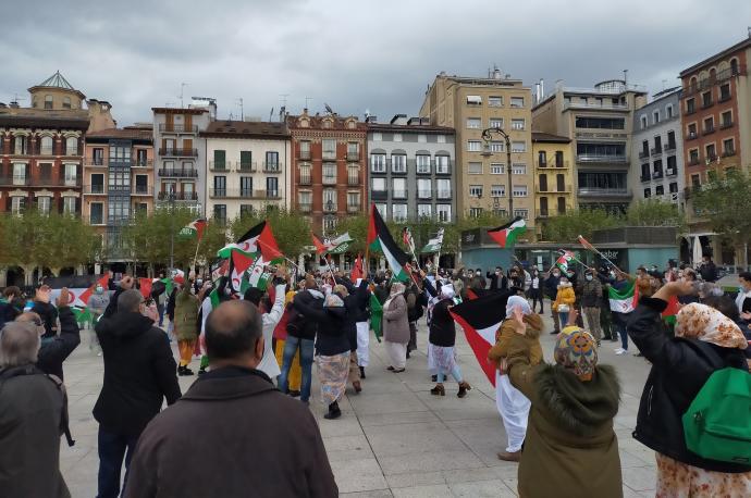 Saharauis y navarros rechazan el ataque marroquí que «viola el alto el fuego» | Noticias de Navarra