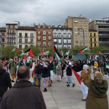Saharauis y navarros rechazan el ataque marroquí que «viola el alto el fuego»   Noticias de Navarra
