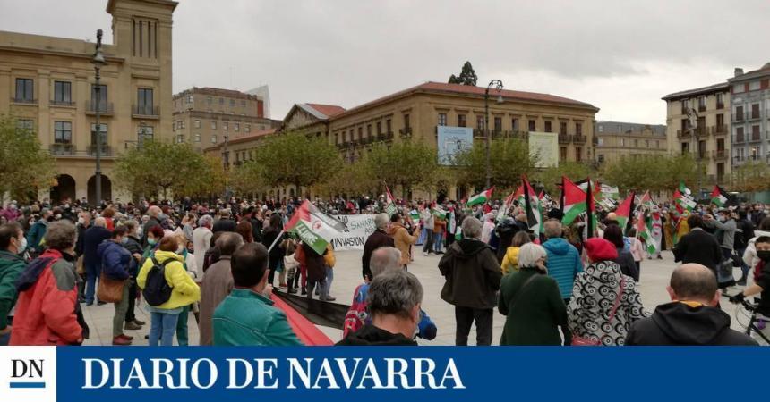 Saharauis y navarros rechazan el ataque marroquí que «viola el alto el fuego» | Noticias de Navarra en Diario de Navarra