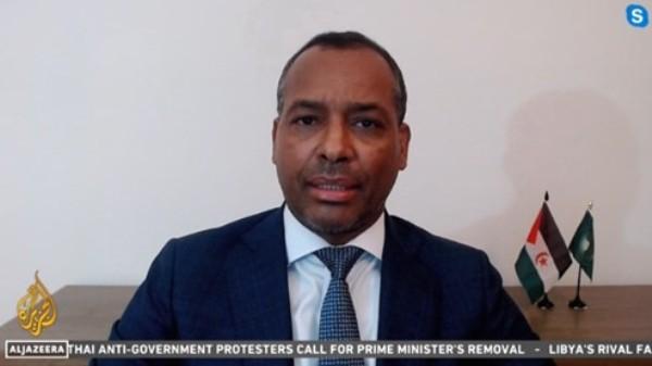 Representante del Frente POLISARIO en la ONU: El pueblo saharaui habló en alto este 13 de noviembre y anunció su determinación de hacer frente a la agresión marroquí | Sahara Press Service