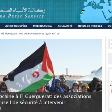 Sahara Press Service – Dernières informations | Agression marocaine à El Guerguerat