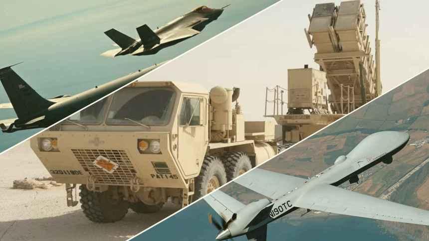 Misiles Hellfire, Patriots, drones y bombas con láser: el nuevo arsenal de Marruecos en El Estrecho