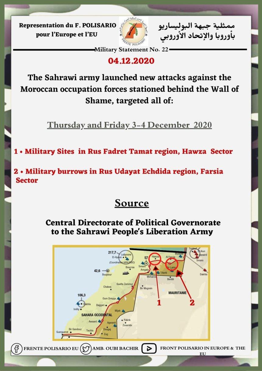 ¡ÚLTIMAS noticias – Sahara Occidental! | 4 de diciembre de 2020