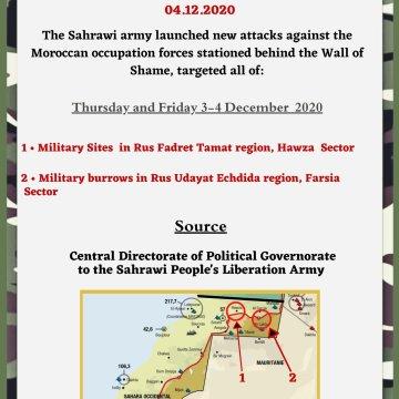 ¡ÚLTIMAS noticias – Sahara Occidental!   4 de diciembre de 2020