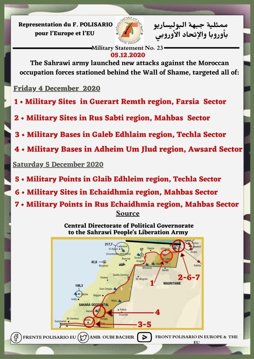 ¡ÚLTIMAS noticias – Sahara Occidental! | 5 de diciembre de 2020