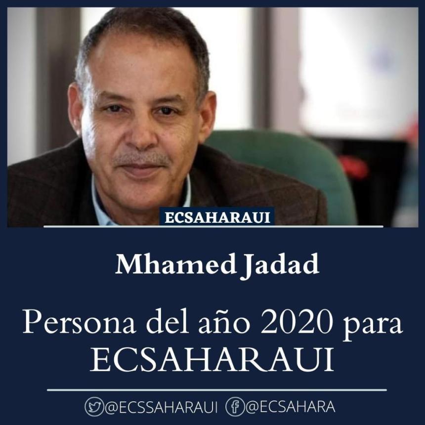 Mhamad Jadad, persona del año 2020 para ECSAHARAUI©