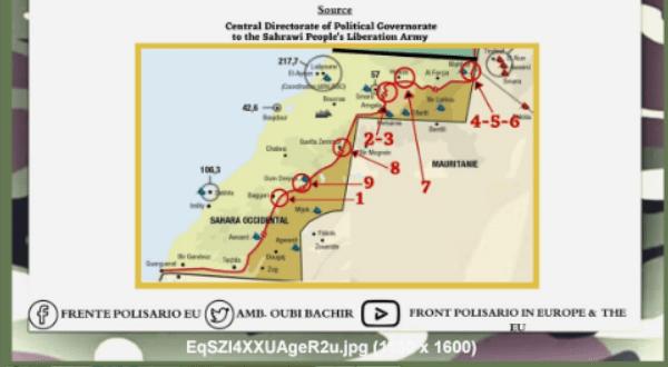 El ELPS bombardea posiciones de las fuerzas de ocupación a lo largo del muro militar marroquí | Sahara Press Service