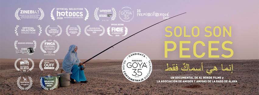 CINEMA SAHARAUI   El corto «Solo son peces» estará en abierto durante las vacaciones de Navidad