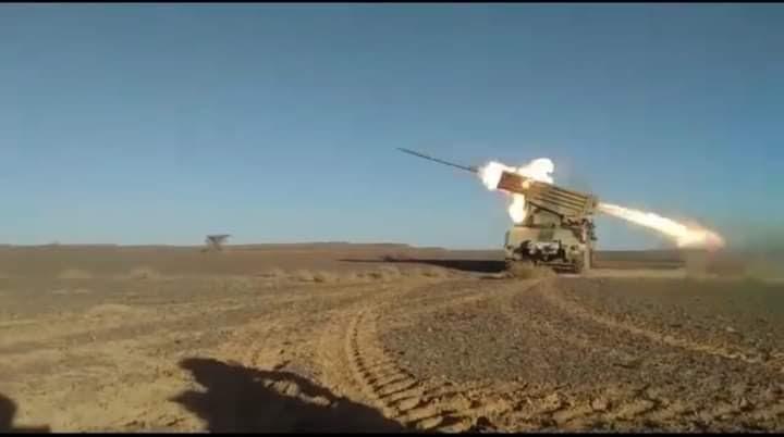 🔴GUERRA EN EL SAHARA   Parte de guerra Nº56
