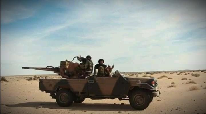 El Ejército Saharaui continúa demoliendo bases del ejército de ocupación marroquí en el Sáhara Occidental