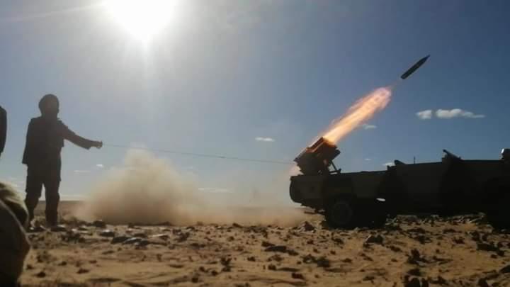 Continúan los bombardeos y ataques del ELPS contra las posiciones enemigas | Sahara Press Service