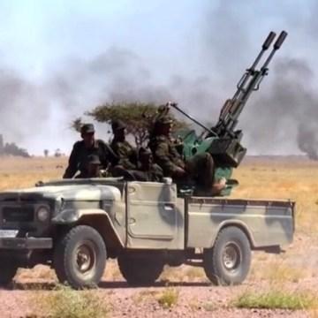GUERRA EN EL SAHARA   Parte de guerra Nº70