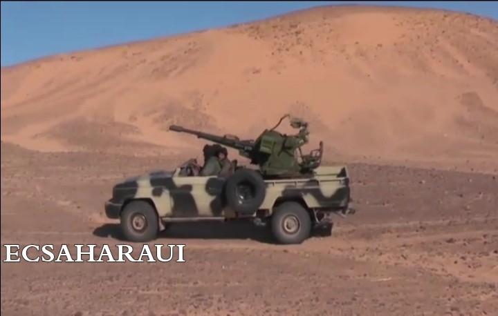 GUERRA EN EL SAHARA | Parte de Guerra Nº65