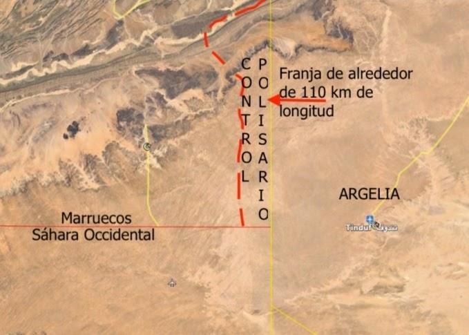 GUERRA EN EL SAHARA   Contextualizando el ataque del Polisario dentro del territorio marroquí