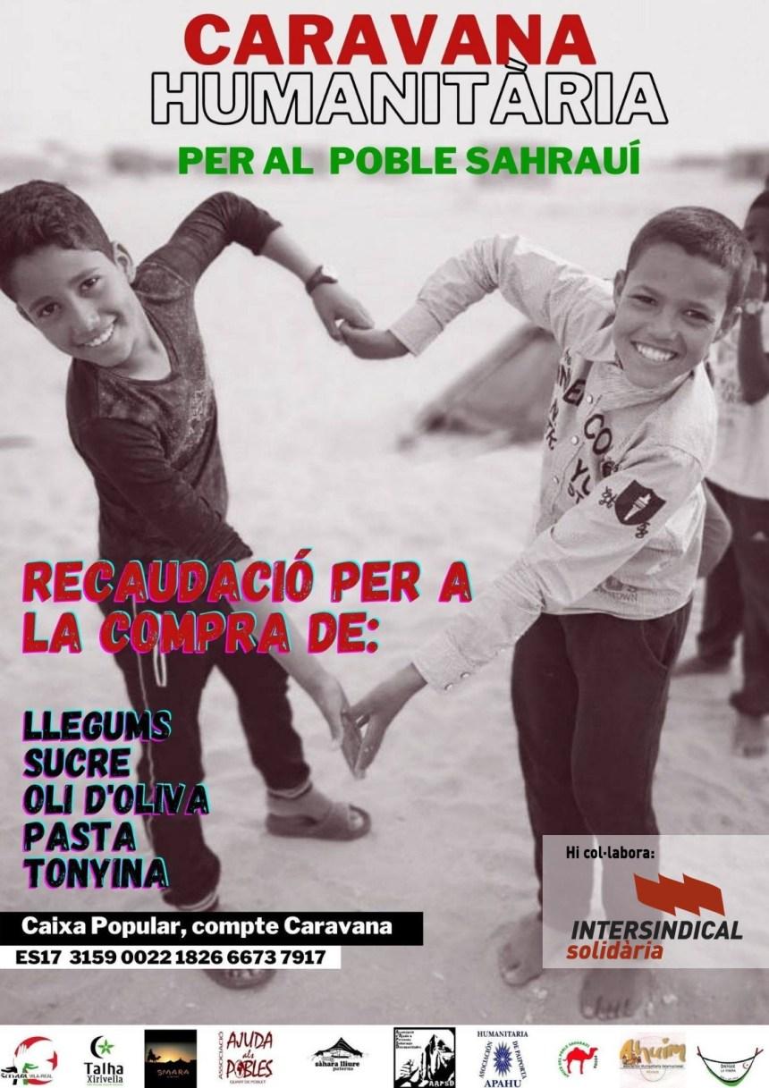 Intersindical Solidària dóna suport Caravana Humanitària per al poble sahrauí | Intersindical Valenciana
