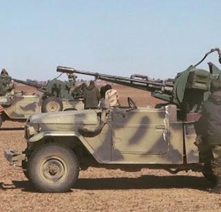 🔴GUERRA EN EL SAHARA   Parte de guerra Nº58