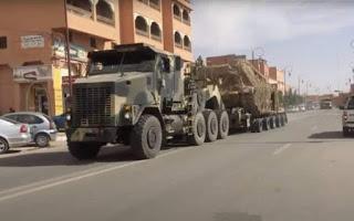 GUERRA EN EL SAHARA | El ejército marroquí comienza a escoltar los convoyes que cruzan El Guerguerat hacia Mauritania