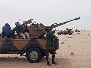 GUERRA DEL SAHARA   Parte de guerra Nº79