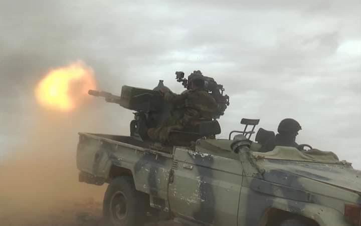 El Ejército saharaui ataca las bases 12 y 13 de las FAR localizadas en Um Draiga