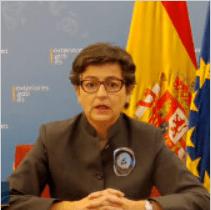 La ministra de Exteriores insiste en que la ONU afronte el problema del Sáhara Occidental   Contramutis