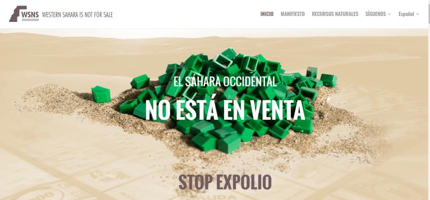 Bubisher apoya la CAMPAÑA INTERNACIONAL DE DENUNCIA DEL EXPOLIO DE RECURSOS NATURALES EN EL SÁHARA OCCIDENTAL