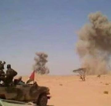 Marruecos acantona miles de tropas en la región de Touizgui con el fin de construir un nuevo muro hasta la frontera con Argelia