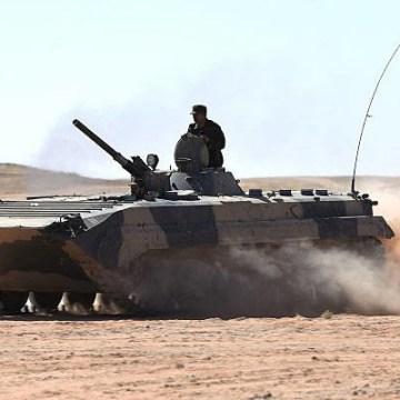 El Ejército saharaui anuncia la destrucción de blindados que Marruecos desplegó para ampliar el muro en frontera noroeste del Sáhara