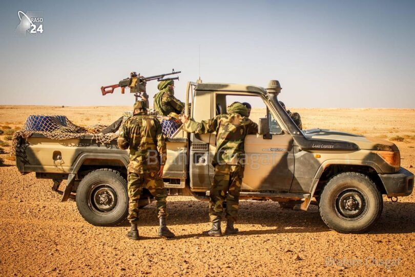 GUERRA EN EL SAHARA   El Ejército saharaui logró penetrar en una zona bajo control del Ejército marroquí, se apoderó de armamento, equipos y diversos documentos personales, y causó varias bajas