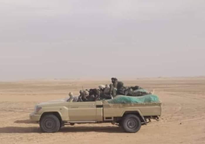 GUERRA EN EL SAHARA   Combates en curso en Buguerba y Touizgui: El ELPS está destruyendo el campo de minas que cubre el muro militar en el norte