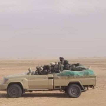GUERRA EN EL SAHARA | Combates en curso en Buguerba y Touizgui: El ELPS está destruyendo el campo de minas que cubre el muro militar en el norte