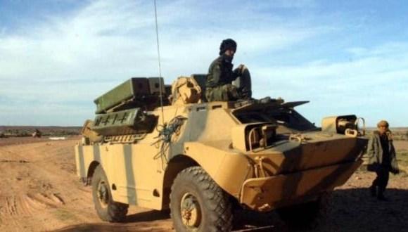 GUERRA EN EL SAHARA   Parte de guerra Nº105