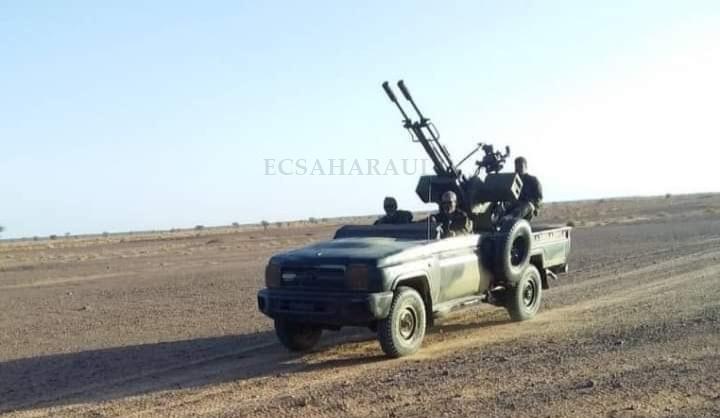 GUERRA EN EL SAHARA   Parte de guerra Nº140