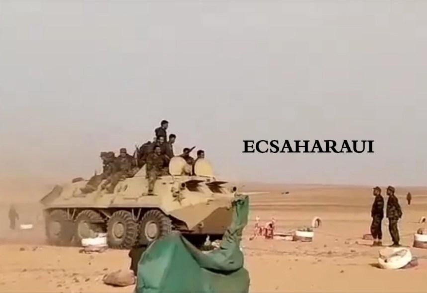 GUERRA EN EL SAHARA   Parte de Guerra Nº131