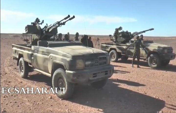 GUERRA EN EL SAHARA   Parte de guerra Nº139