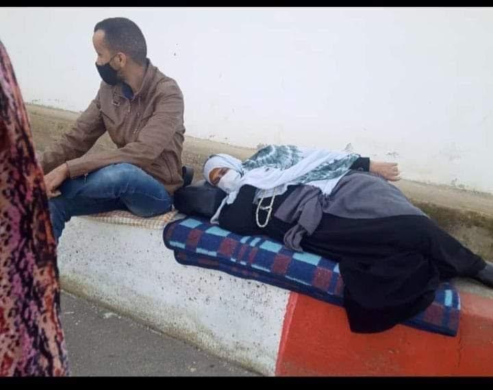 La abogada asegura que la madre del preso político saharaui Mohamed Lamin Haddi ya ha sido liberada