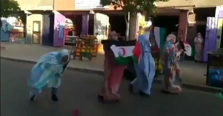 Protestas en diferentes ciudades del Sáhara Occidental contra la ocupación marroquí.