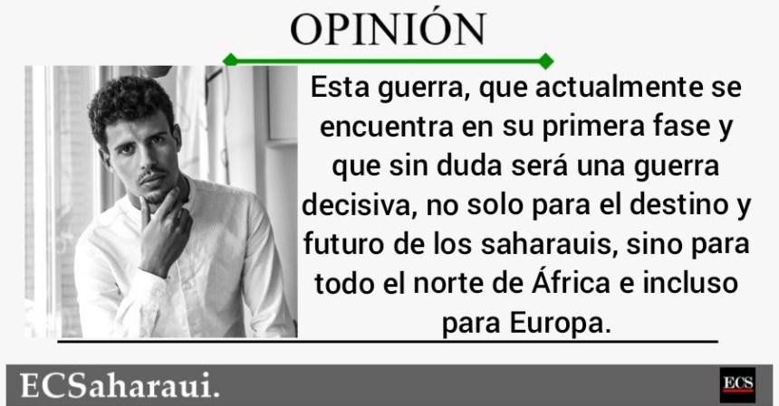 OPINIÓN   La actual guerra del Sahara Occidental es decisiva para Europa, por Taleb Alisalem
