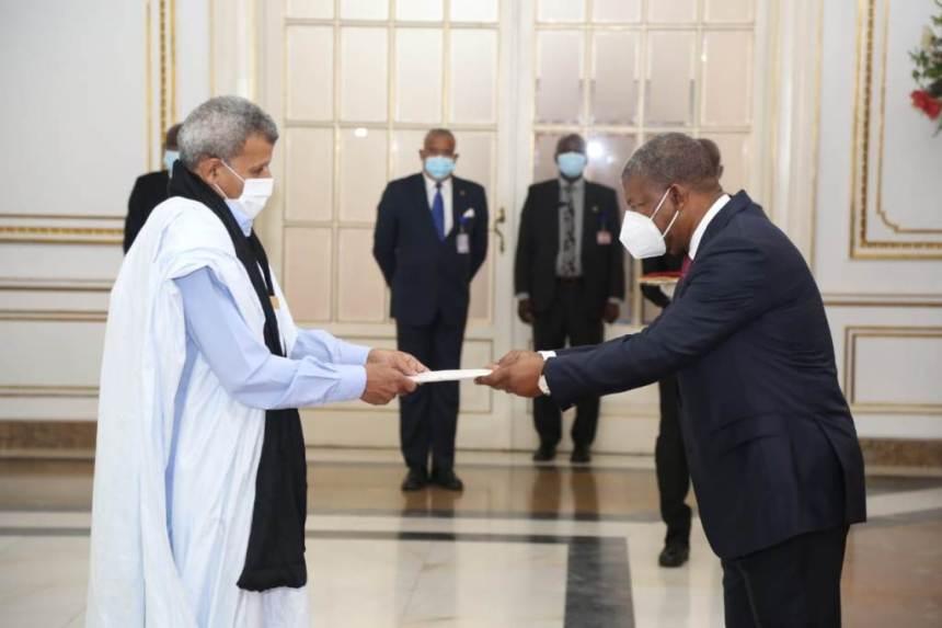Nuevo embajador de la RASD presenta sus cartas credenciales al presidente de Angola | Sahara Press Service