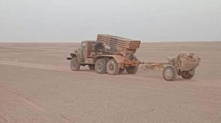 GUERRA EN EL SAHARA | Parte de guerra Nº115