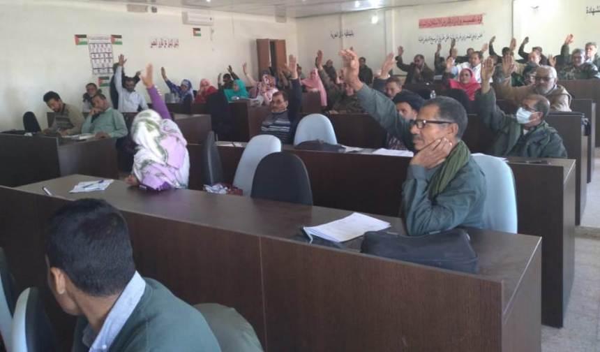 El Consejo Nacional Saharaui aprueba el programa del gobierno para 2021 | Sahara Press Service